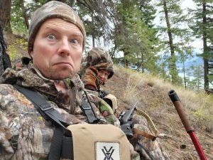 Sacha Bordas hunting in Lillooet